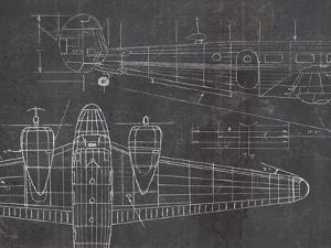 Plane Blueprint II v2 by Marco Fabiano