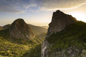 Off Roques Sunrise, Garajonay National Park, La Gomera, Canary Islands, Spain by Marco Isler