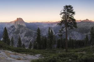 Panoramic View at the Half Dome and Environment, Yosemite National Park the USA, California by Marco Isler