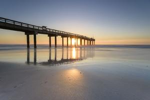 St. Johns of County Ocean Pier, Florida, St. Augustine by Marco Isler