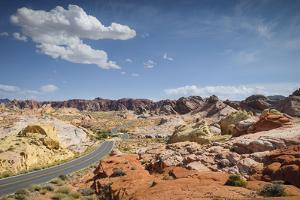 Street Through the Valley of Fire State Park, Nevada by Marco Isler