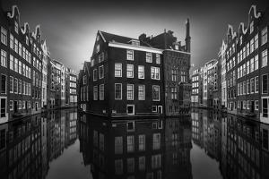 Amsterdam Canal Mirrors by Marco Maljaars