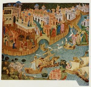 Marco Polo Leaves Venice Almost Certainly on His Second Trip in 1271