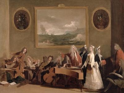 Rehearsal of an Opera, c.1709
