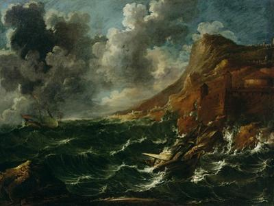 Ships in a Gale, C.1705-08