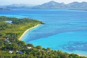 Blue Lagoon, Nacula Island, Yasawa Island Group, Fiji, South Pacific Islands, Pacific by Marco Simoni
