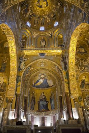 Capella Palatina, Palermo, Sicily, Italy, Europe, by Marco Simoni
