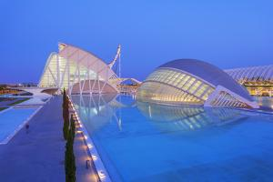 City of Arts and Sciences, Valencia, Spain by Marco Simoni