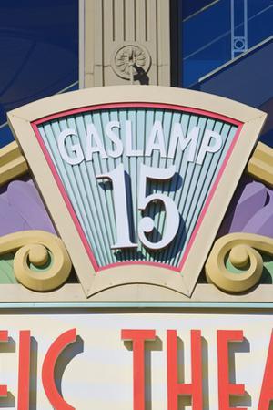 Gaslamp Quarter, San Diego, California, Usa