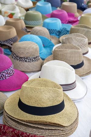Hats, Cefalu, Sicily, Italy, Europe.