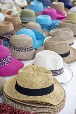 Hats, Cefalu, Sicily, Italy, Europe. by Marco Simoni