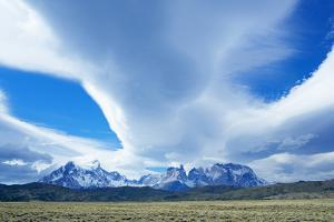 Horns of Paine Mountains, Torres Del Paine National Park, Patagonia, Chile, South America by Marco Simoni