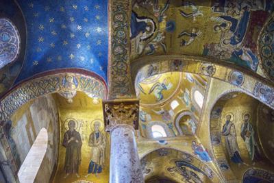 La Martorana Church, Palermo, Sicily, Italy, Europe,