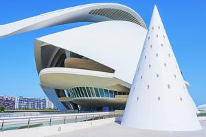 Reina Sofia Arts Palace, City of Arts and Sciences, Valencia, Spain by Marco Simoni