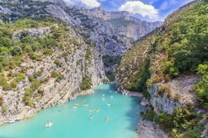 St. Croix Lake, Gorges du Verdon, Provence-Alpes-Cote d'Azur, Provence, France by Marco Simoni