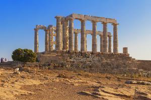 Temple of Poseidon, Cape Sounion, Attica, Greece by Marco Simoni