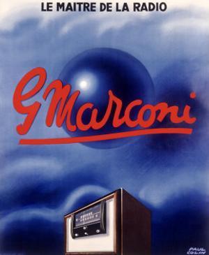 Marconi Tube Radio Set