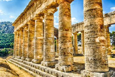 Greek Temple of Segesta by marcorubino