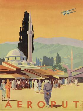 Aeroput Yugoslavia c.1930s by Marcovic