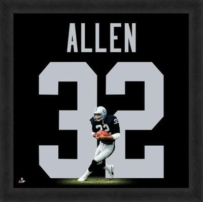 Marcus Allen, Raiders representation of the player's jersey