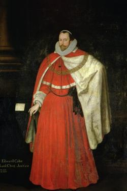 Edward Coke, Lord Chief Justice by Marcus Gheeraerts