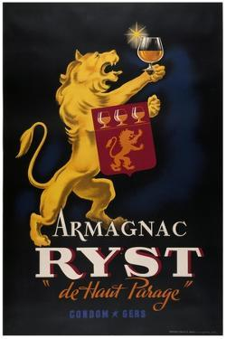 Armagnac Ryst Lion by Marcus Jules