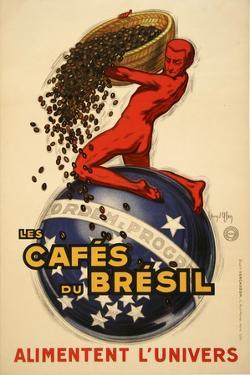 Cafes du Bresil by Marcus Jules