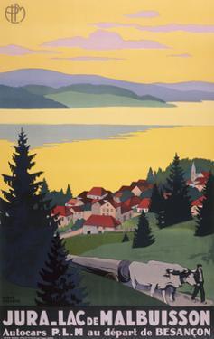 Jura Lac De Malbuisson by Marcus Jules