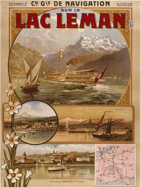 Lac Leman by Marcus Jules
