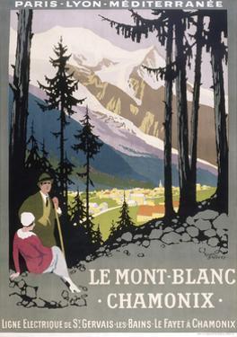 Le Mont Blanc Chamonix by Marcus Jules