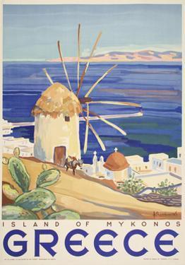 Mykonos Greece by Marcus Jules