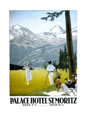 Palace Hotel St Moritz by Marcus Jules
