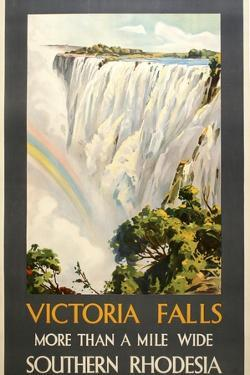 Victoria Falls by Marcus Jules