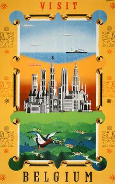 Visit Belgium by Marcus Jules