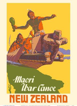 New Zealand - Maori War Canoe by Marcus King