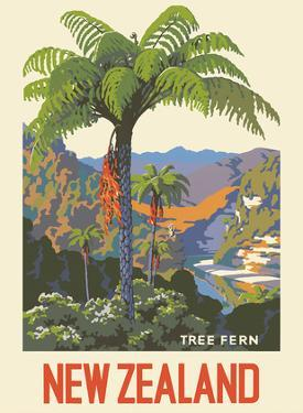 New Zealand - Tree Fern by Marcus King