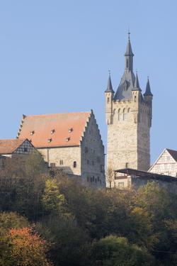 Blauer Turm Tower, Bad Wimpfen, Neckartal Valley, Baden Wurttemberg, Germany, Europe by Marcus Lange