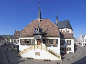 Old Town Hall (Museum of Wine Culture) and St. Ulrich Church by Marcus Lange