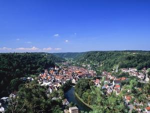 Sulz Am Neckar, Neckartal Valley, Baden Wurttemberg, Germany, Europe by Marcus Lange