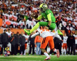 Marcus Mariota University of Oregon Ducks 2014 Action