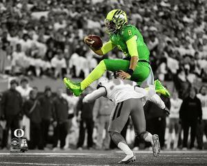 Marcus Mariota University of Oregon Ducks 2014 Spotlight Action