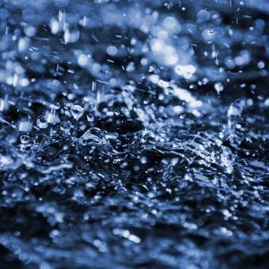 Aqua Droplets 3 by Marcus Prime