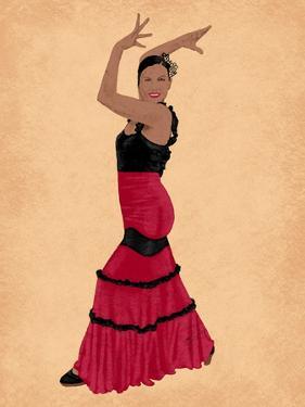 Flamingo Dancer 1 by Marcus Prime