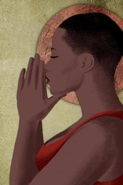 Praying Goddess 1 by Marcus Prime