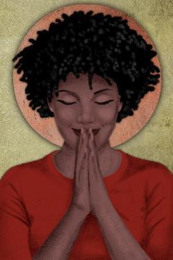 Praying Goddess 2 by Marcus Prime
