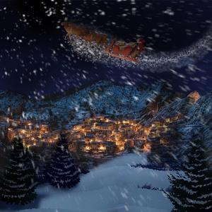 Santas Coming by Marcus Prime