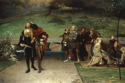 Edward II and his Favourite, Piers Gaveston, 1872