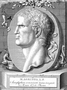Marcus Vipsanius Agrippa (63-12 B), Roman Statesman and Naval and Military Commander