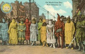 Mardi Gras Costumes, New Orleans, Louisiana