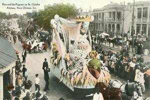 Mardi Gras Parade Float, Rex